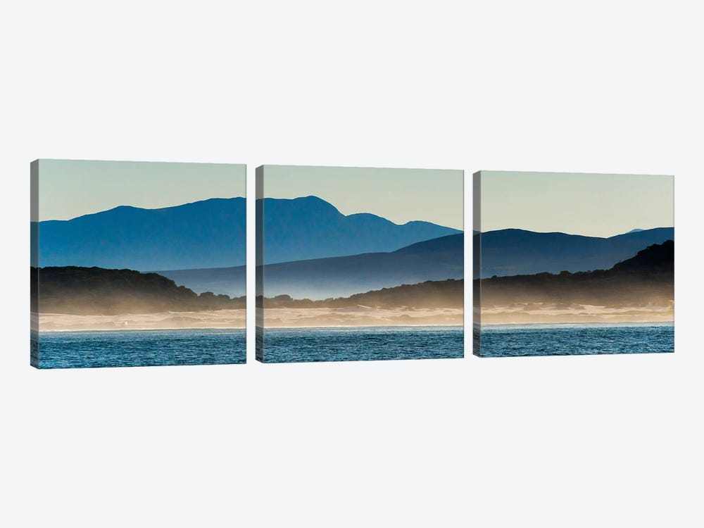 Ocean in Van Dyks Bay at sunrise. Western Cape Province, South Africa. 3-piece Art Print
