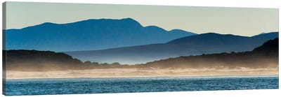 Ocean in Van Dyks Bay at sunrise. Western Cape Province, South Africa. Canvas Art Print