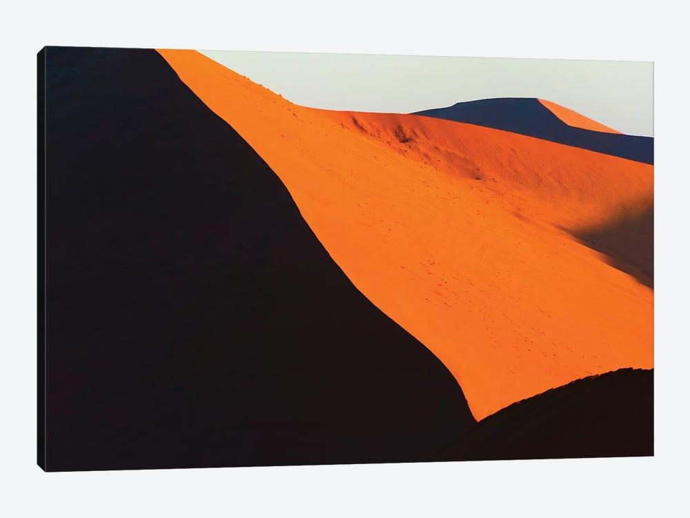 Red sand Dune 45 in southern Namib Desert. Sossusvlei, Namib-Naukluft NP, Hardap Region, Namibia by Keren Su 1-piece Canvas Art
