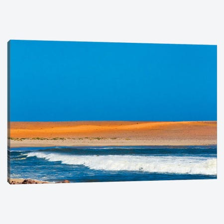 Skeleton Coast along South Atlantic Ocean. Cape Cross, Erongo Region, Namibia. Canvas Print #KES94} by Keren Su Art Print