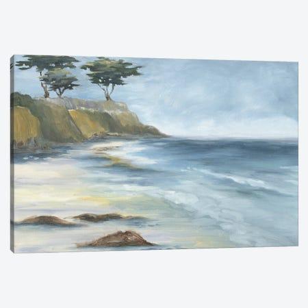 Beach Cypress Canvas Print #KEU1} by Danusia Keusder Art Print