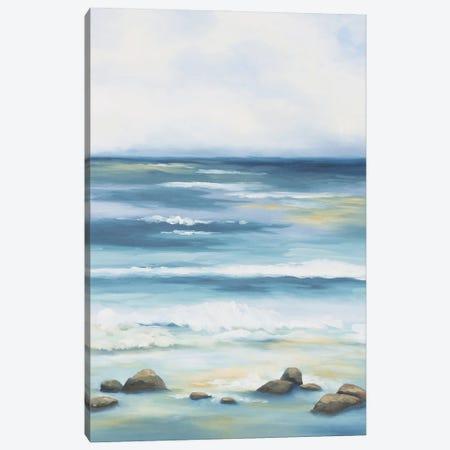 Blue Crush Canvas Print #KEU2} by Danusia Keusder Canvas Print