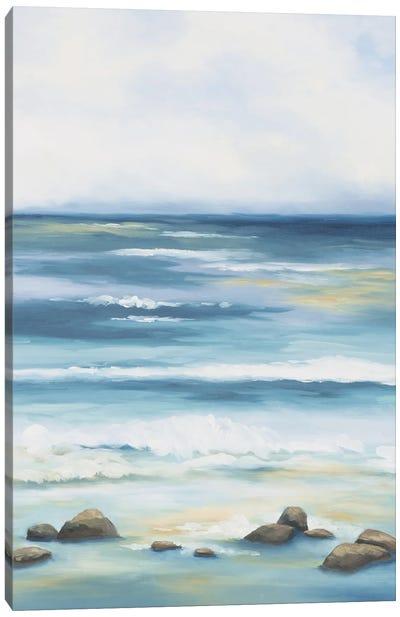 Blue Crush Canvas Art Print