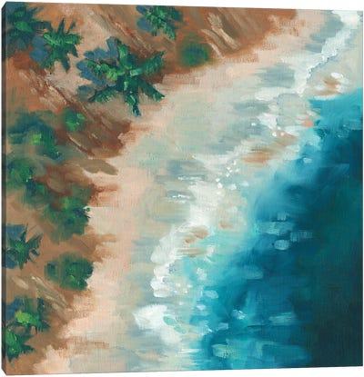 Cliffside Canvas Art Print