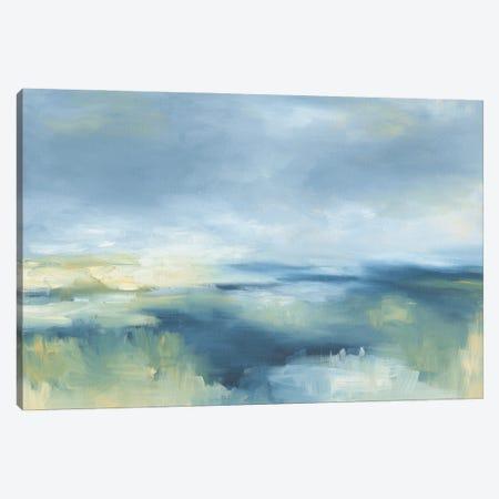 Coastal Blues Canvas Print #KEU5} by Danusia Keusder Canvas Art