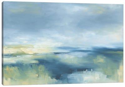 Coastal Blues Canvas Art Print