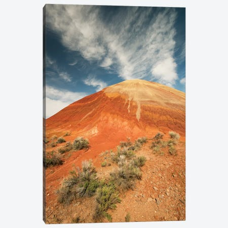 Bentonite Clay Deposits, Painted Hills, John Day National Monument, Oregon Canvas Print #KEV1} by Kevin Schafer Canvas Artwork
