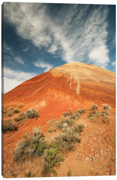 Bentonite Clay Deposits, Painted Hills, John Day National Monument, Oregon Canvas Art Print