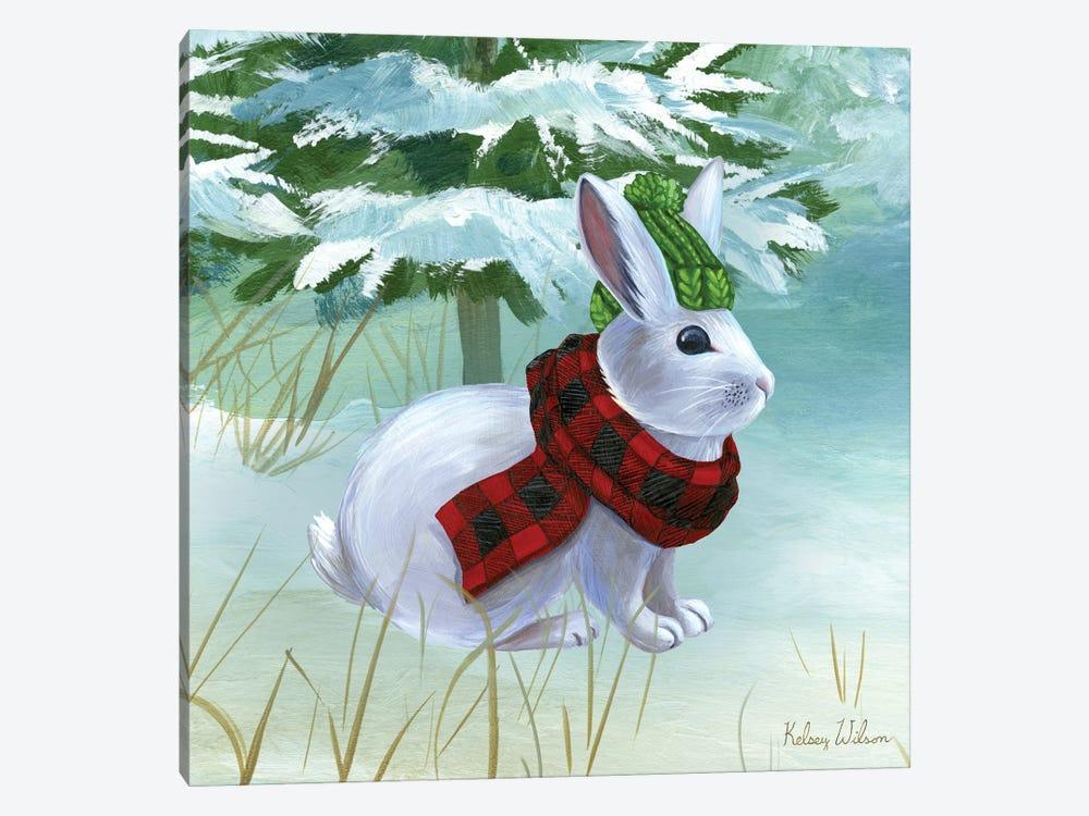 Winterscape III-Rabbit by Kelsey Wilson 1-piece Canvas Art Print
