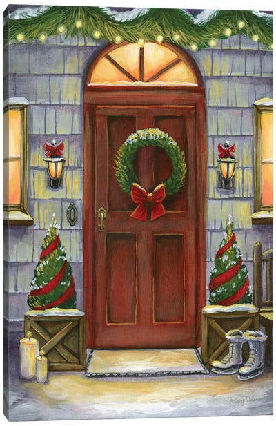 Cheery Threshold I Canvas Art Print