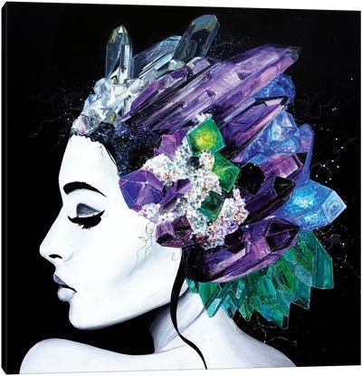 Fluorite Canvas Art Print