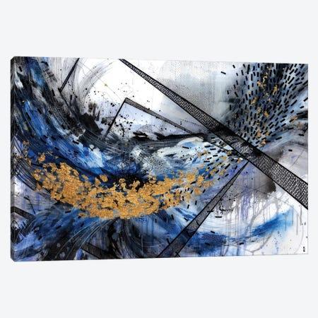 Geo Swoosh Structure Canvas Print #KEZ18} by Kristen Elizabeth Art Print