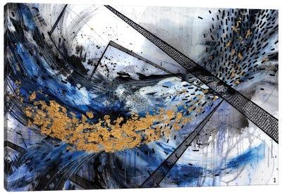 Geo Swoosh Structure Canvas Art Print