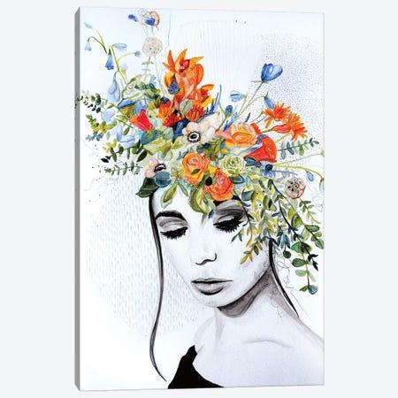 Lily 3-Piece Canvas #KEZ25} by Kristen Elizabeth Canvas Print