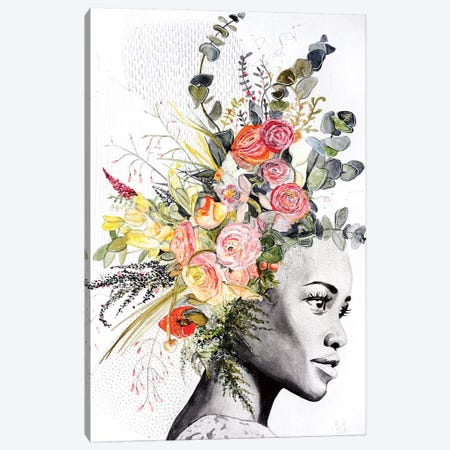 Lupita Canvas Print #KEZ27} by Kristen Elizabeth Canvas Print