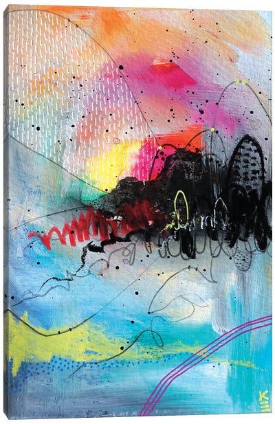 Modern Sunrise Canvas Art Print