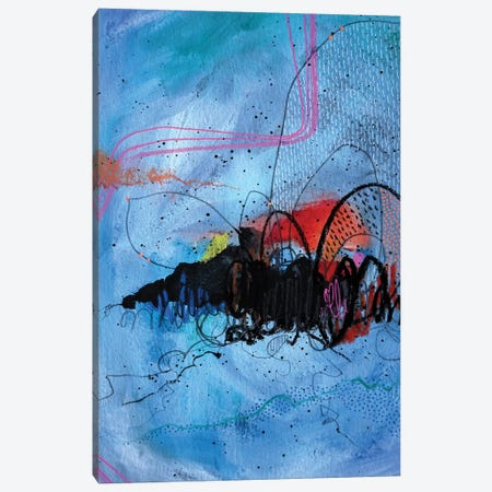 Ocean Blue Canvas Print #KEZ29} by Kristen Elizabeth Canvas Art