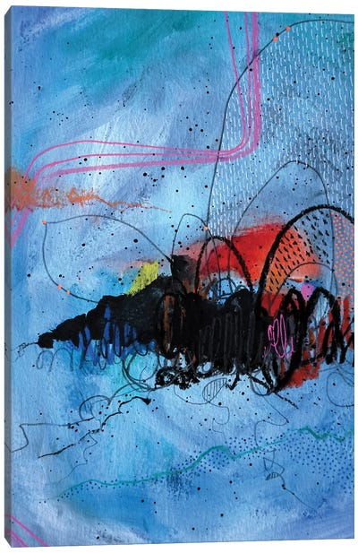 Ocean Blue Canvas Art Print