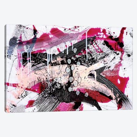 Pink Power Canvas Print #KEZ31} by Kristen Elizabeth Canvas Art Print