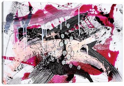 Pink Power Canvas Art Print