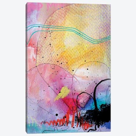 Rising Sun Canvas Print #KEZ36} by Kristen Elizabeth Canvas Artwork