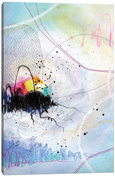 Shine Through Canvas Art Print