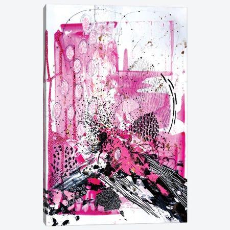 Splash Of Pink Canvas Print #KEZ39} by Kristen Elizabeth Canvas Print
