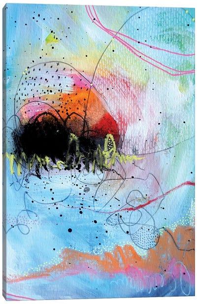 Undone Canvas Art Print