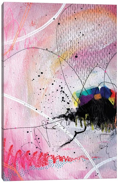 Blushing Canvas Art Print