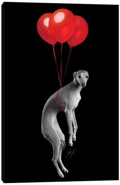 Party Dog I Canvas Art Print