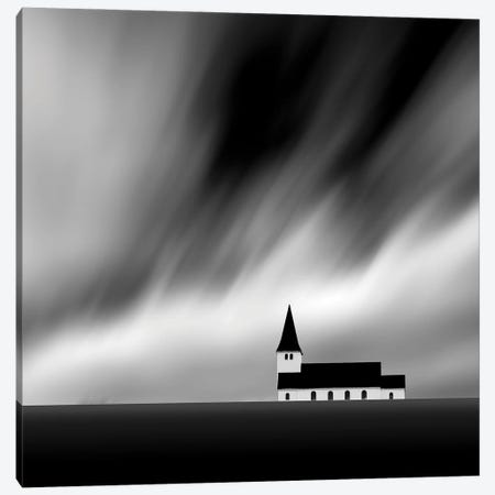 The Deserted Chapel II Canvas Print #KFD131} by Kathrin Federer Canvas Print