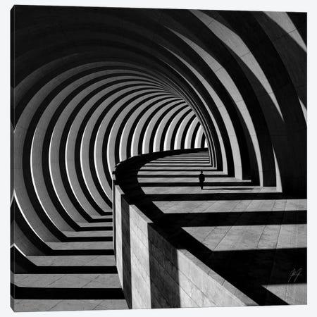 The Tunnel I Canvas Print #KFD148} by Kathrin Federer Canvas Wall Art