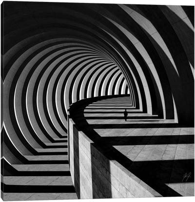 The Tunnel I Canvas Art Print