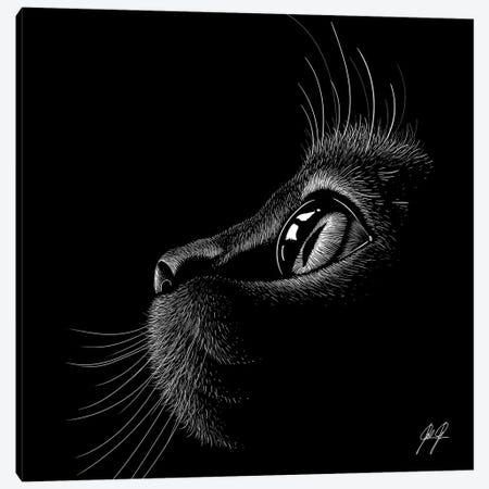 Little Cutie Canvas Print #KFD149} by Kathrin Federer Canvas Artwork