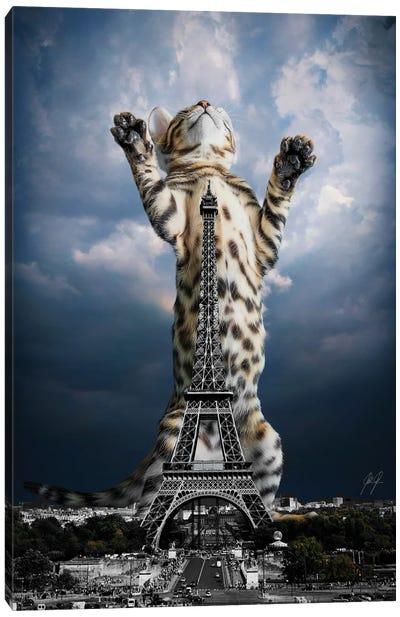 Paris mon Amour Canvas Art Print