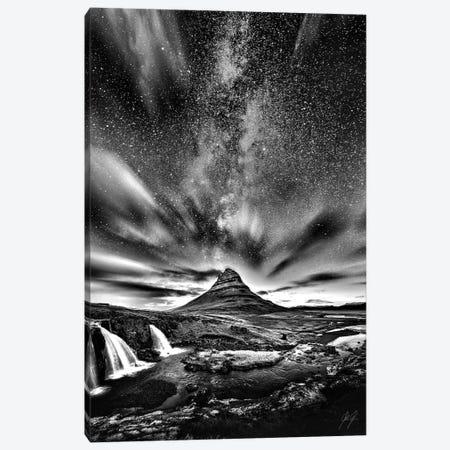 Exploding Thorn Canvas Print #KFD15} by Kathrin Federer Canvas Art