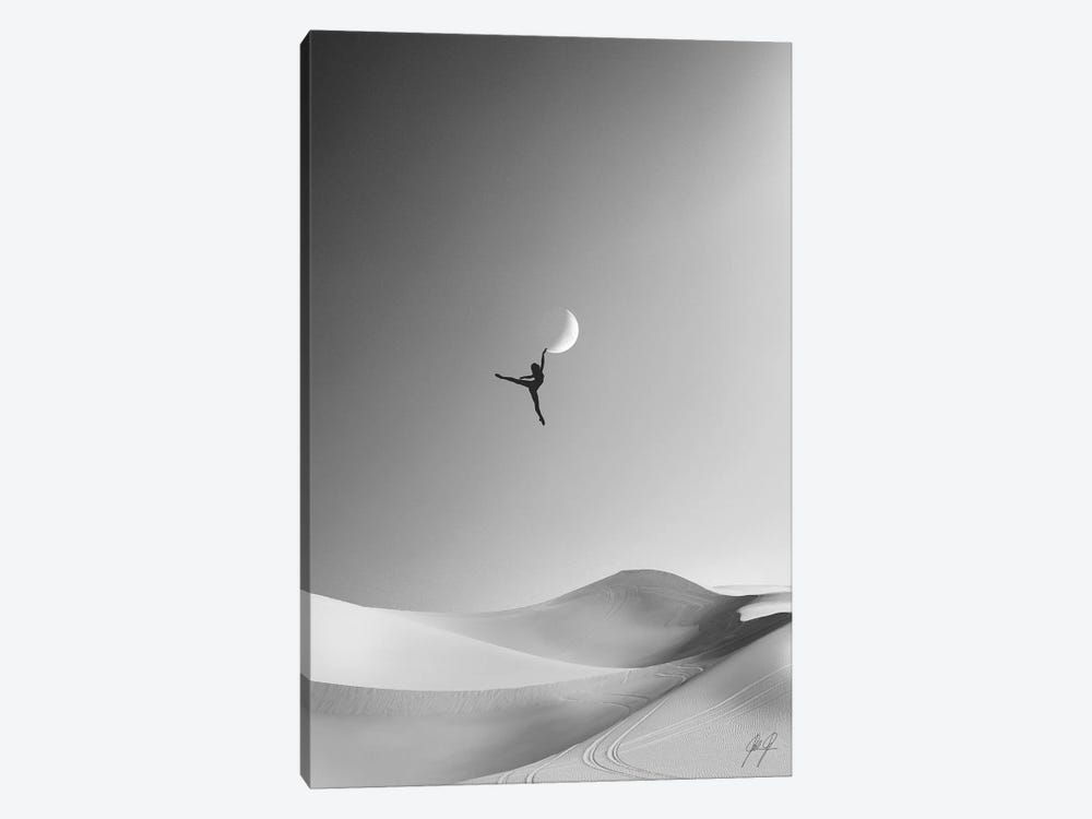 Fantasy Ballet by Kathrin Federer 1-piece Canvas Wall Art