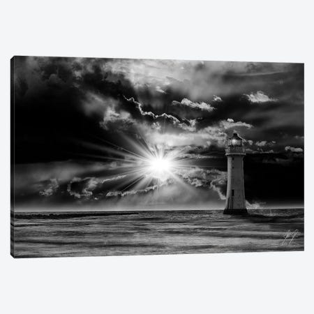 A Glow At Night Canvas Print #KFD2} by Kathrin Federer Canvas Artwork