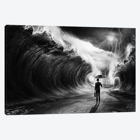 Modern Moses I Canvas Print #KFD32} by Kathrin Federer Art Print