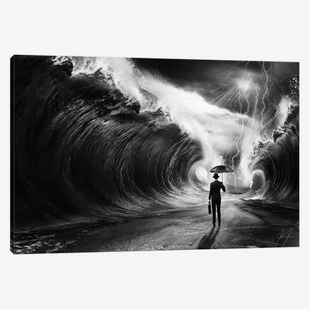 Modern Moses I Canvas Print #KFD32} by Kathrin Federer Art Print