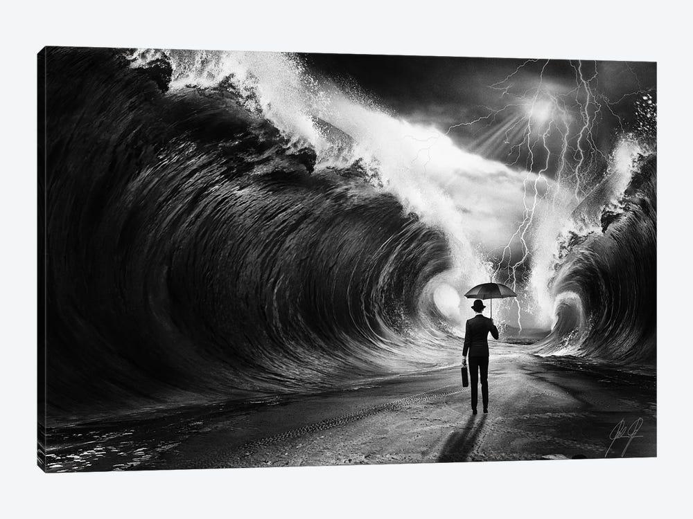 Modern Moses I by Kathrin Federer 1-piece Canvas Artwork