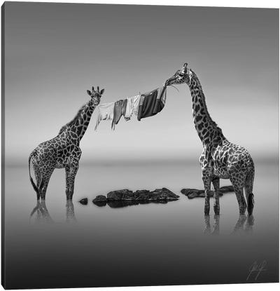 Shared Work Is Half Work Canvas Art Print