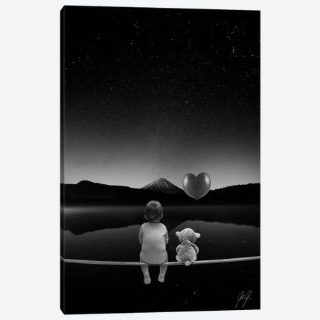 Baby Dreams 3-Piece Canvas #KFD4} by Kathrin Federer Canvas Art Print