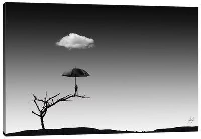 Umbrella Man II Canvas Art Print