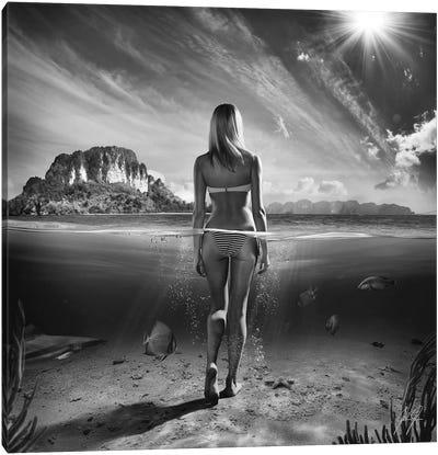 Bikini Girl I Canvas Art Print
