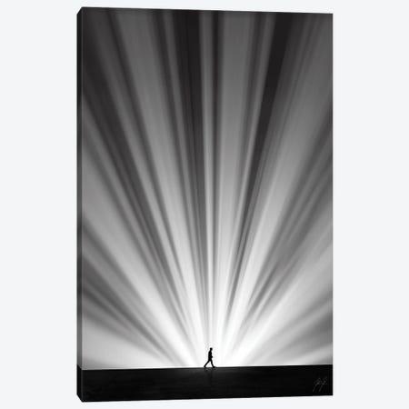 Light Chaser Canvas Print #KFD89} by Kathrin Federer Canvas Art
