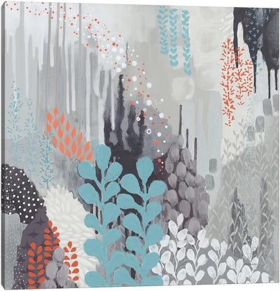 Gray Forest II Canvas Art Print
