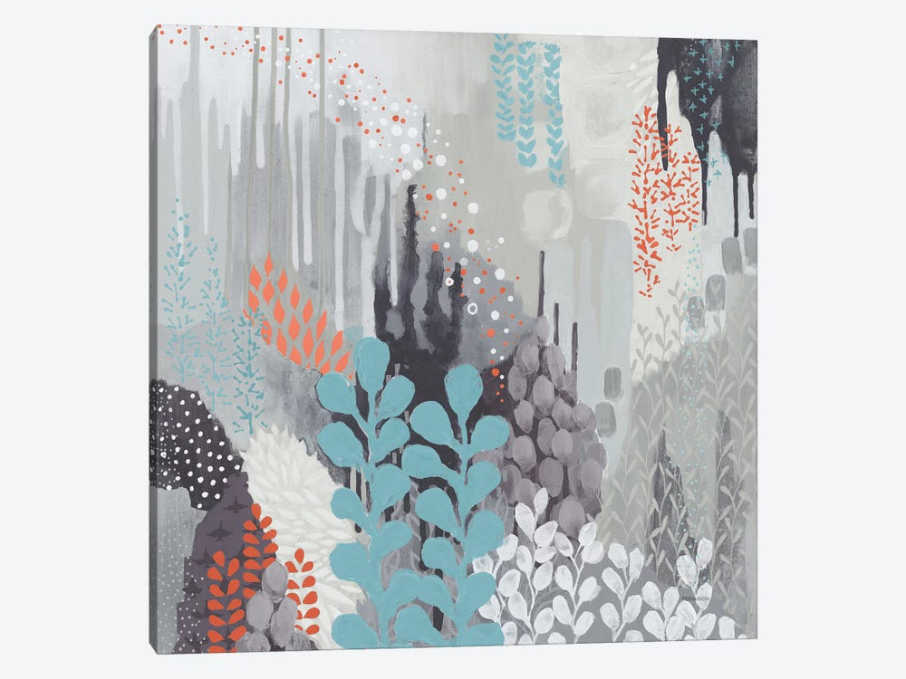 Gray Forest II by Kathy Ferguson 1-piece Canvas Print