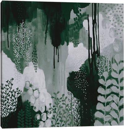 Green Forest I Canvas Art Print