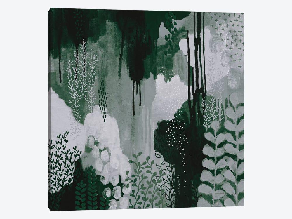Green Forest I by Kathy Ferguson 1-piece Canvas Artwork